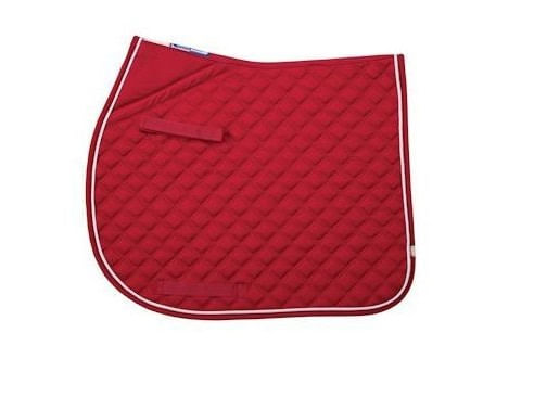 Lettia CoolMax ProSeries All Purpose Pad - Red/White Piping/Red Trim