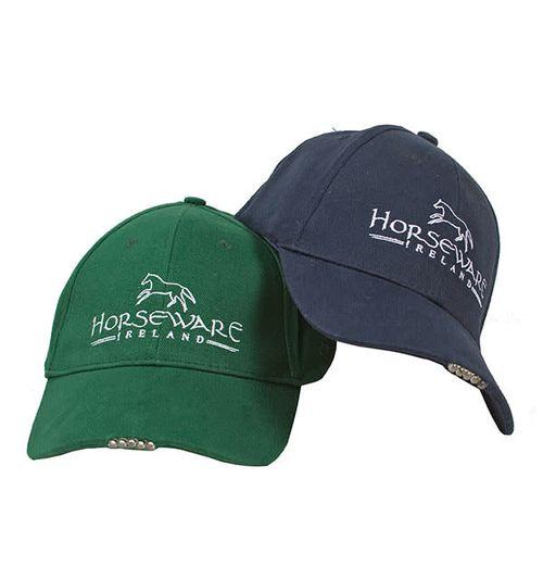Horseware LED Baseball Cap - Navy/White