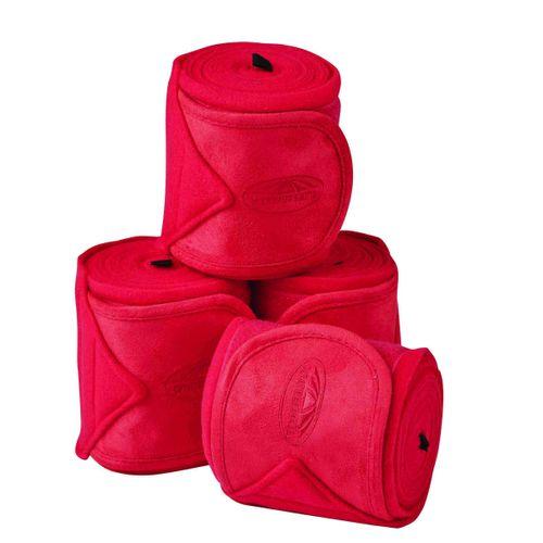 Weatherbeeta Fleece Bandages - Ruby