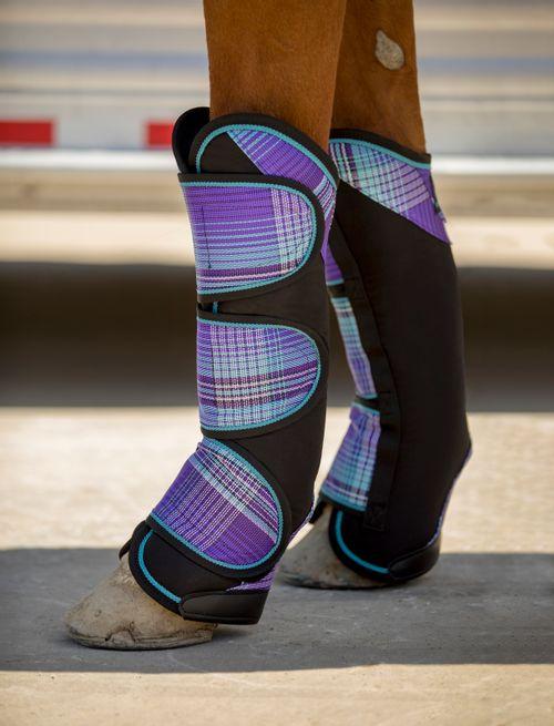 Kensington Elite Trailering Boots Set of Four - Lavender Mint