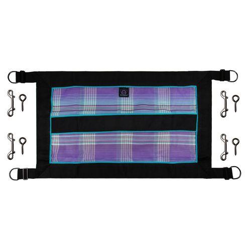 "Kensington 21"" Deep Stall Guardwith Hardware - Lavender Mint"