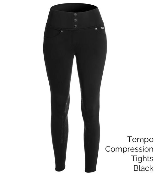 Tredstep Women's Tempo Compression Tights - Black