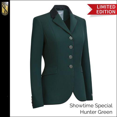 Tredstep Women's Solo Showtime Special Coat - Hunter Green