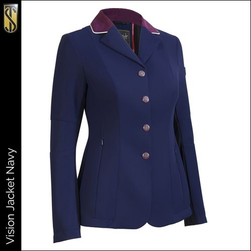 Tredstep Women's Solo Vision Competition Coat - Navy