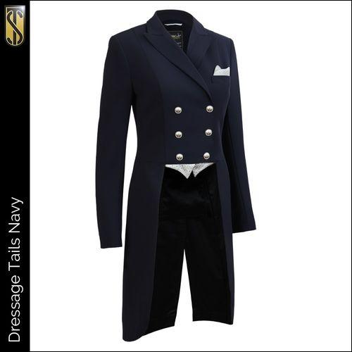 Tredstep Women's Dressage Tail Coat - Navy