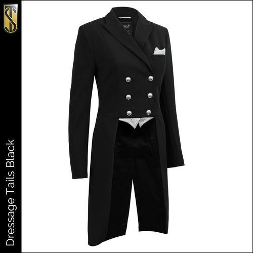 Tredstep Women's Dressage Tail Coat - Black
