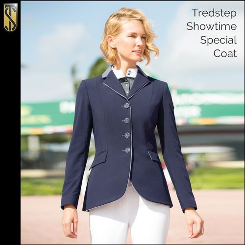 Tredstep Women's Solo Showtime Special Coat - Navy