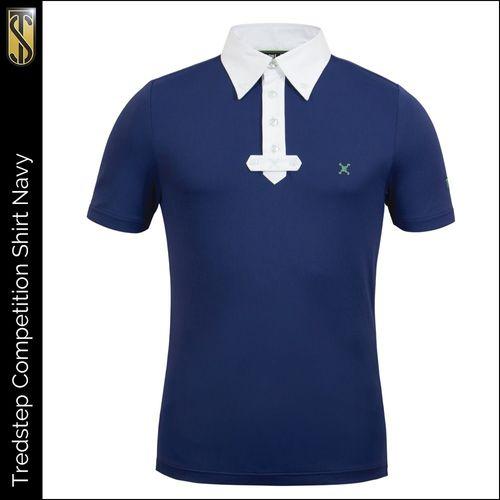 Tredstep Men's Short Sleeve Competition Shirt - Navy (((11931))) <<<en-US>>>