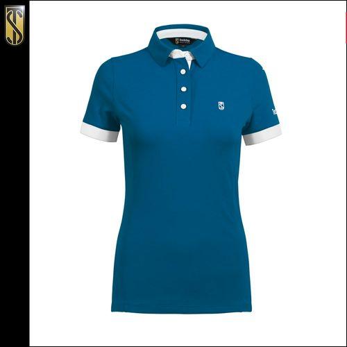 Tredstep Women's Performance Polo - Vallarta Blue