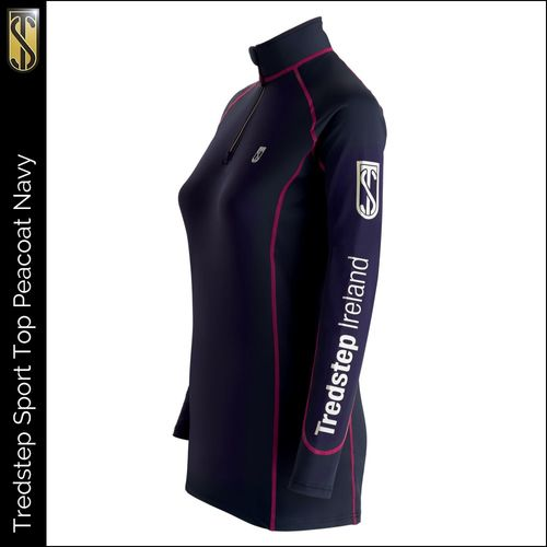 Tredstep Women's Futura Long Sleeve Sport Top - Peacoat Navy