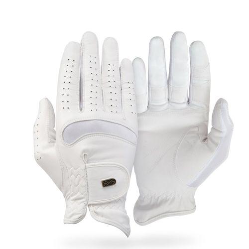 Tredstep Dressage Pro Gloves - White (((11973))) <<<en-US>>>