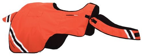 Equisafety EquiSafety Winter Wraparound Quarter Sheet - Orange
