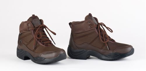 Ovation Women's Heels Down Riding Sneaker - Brown