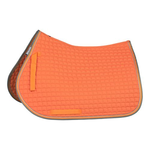 Horze Adepto All Purpose Saddle Pad - Coral Gold