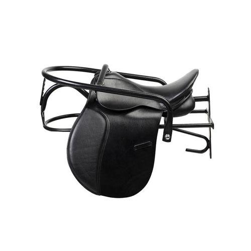 Horze Lockable Saddle Rack - Black