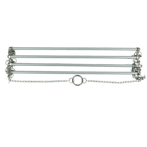 Horze Hanging Blanket Rack - Silver