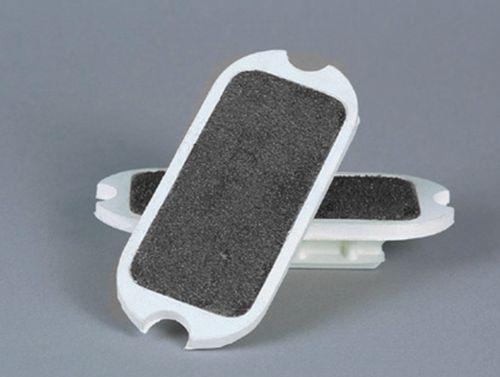 Centaur Sand Paper Stirrup Pads - White