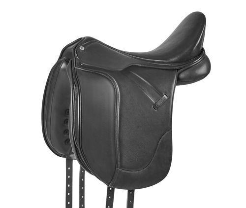 Collegiate Esteem Dressage Saddle - Black
