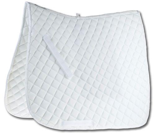 Roma Economy Dressage Saddle Pad - White