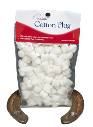 Nunn Finer Cotton Stud Plugs - Bag of 100 - White