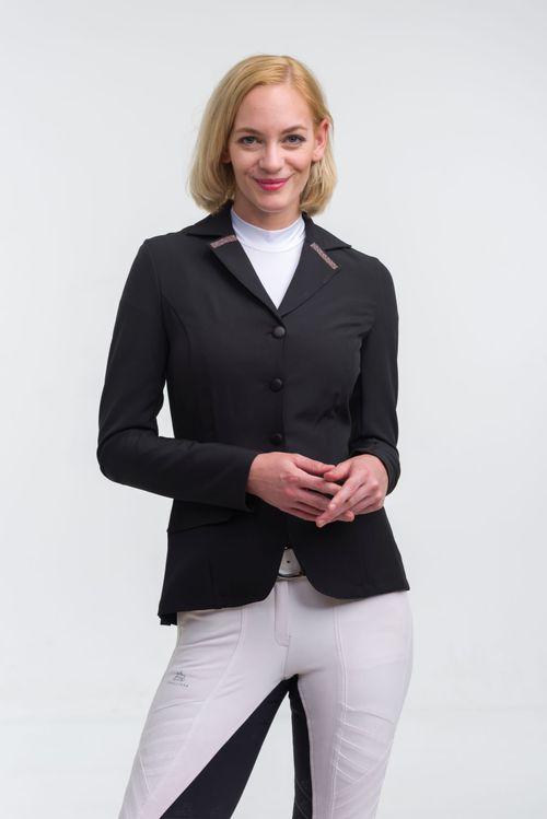 Cavalliera Women's Rose Gold Purity Show Jacket - Black