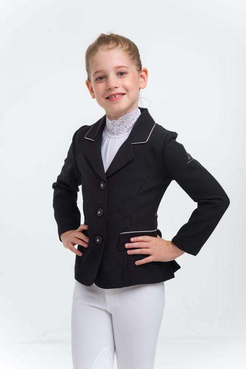 Cavalliera Kids' Crystal Purity Show Jacket - Black