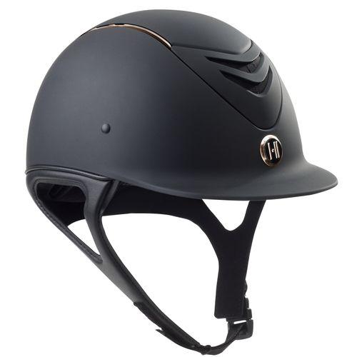 One K MIPS CCS Helmet - Black Matte/Rose Gold