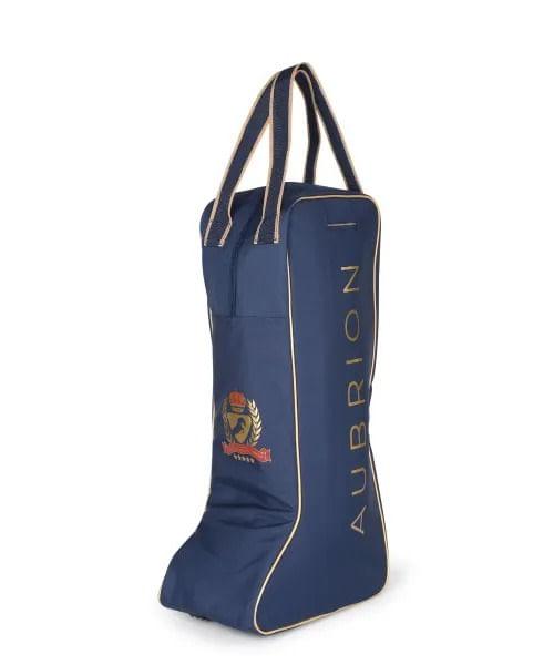 Aubrion Team Tall Boot Bag - Navy