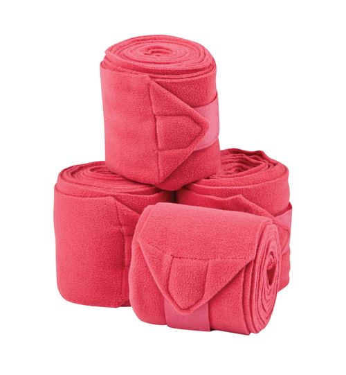 Saxon Coordinate Fleece Bandages 4 Pack - Pink