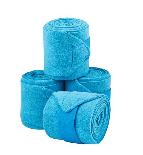 Saxon Coordinate Fleece Bandages 4 Pack - Blue