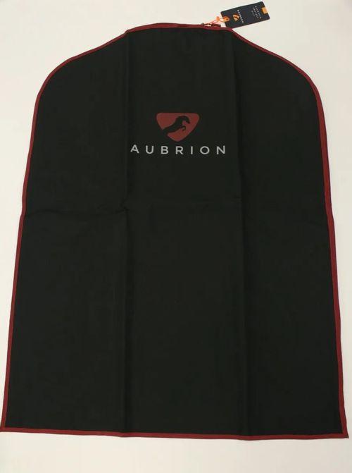 Aubrion Garment Bag - Black/Burgundy