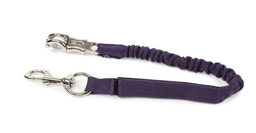 Shires Bungee Breakaway Trailer Tie - Purple