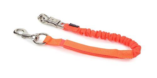 Shires Bungee Breakaway Trailer Tie - Orange