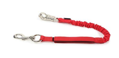 Shires Bungee Breakaway Trailer Tie - Red