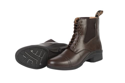 Dublin Kids' Altitude Lace Up Paddock Boots - Brown