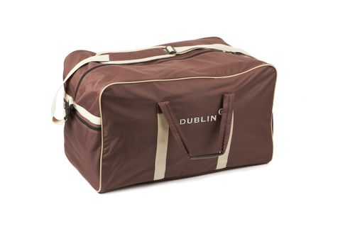 Dublin Imperial Hold All Bag - Chocolate/Cream