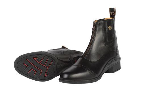 Dublin Women's Rapture Zip Paddock Boots - Black