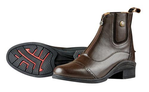 Dublin Women's Rapture Zip Paddock Boots - Brown