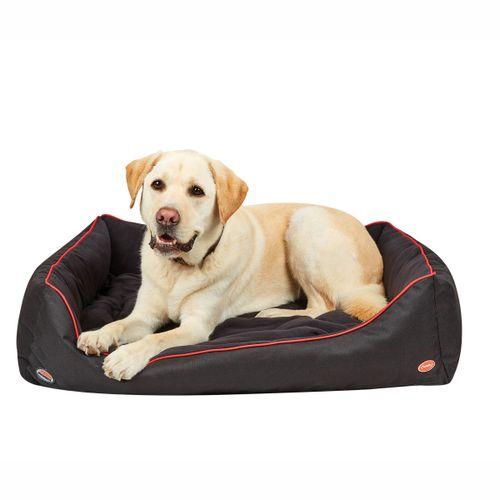 Weatherbeeta Therapy-Tec Dog Bed - Black/Red