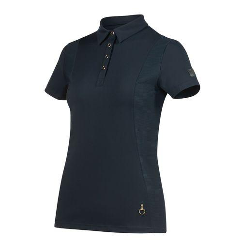 Horze Women's Mathilde Functional Shirt - Navy Dark Blue