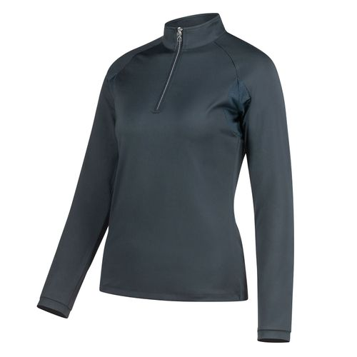 Horze Women's Carolina Training Shirt - Navy Dark Blue