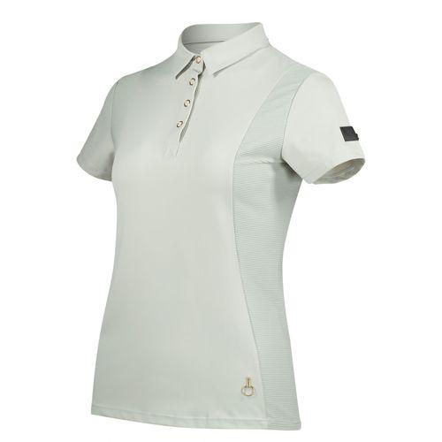 Horze Women's Mathilde Functional Shirt - Moonstruck Beige