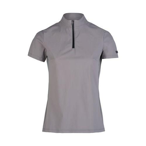 Horze Women's Limited Editon Saphira Ventilated Training Shirt - Silver Scone
