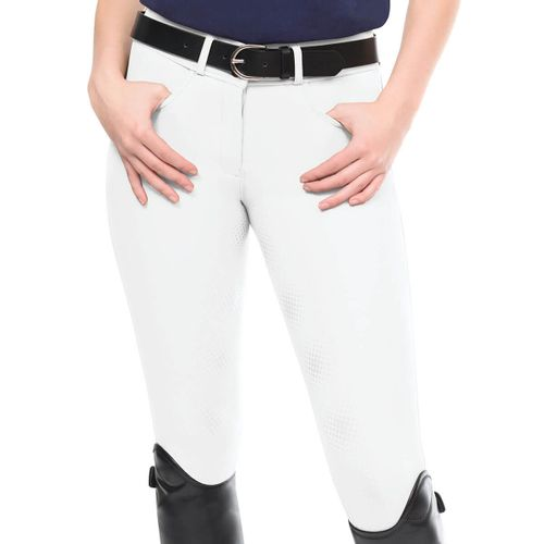 Ovation Women's Signature Bellissima II GripTec Full Seat Breeches - White
