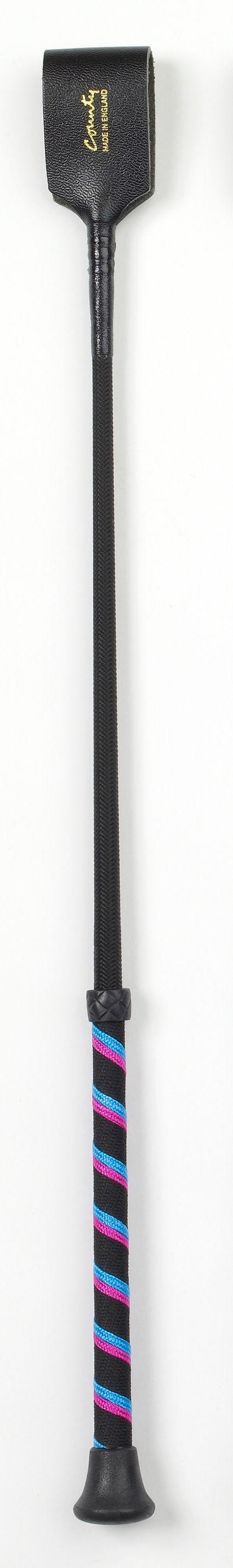 County Tri-Stripe Bat - Black/Cerise