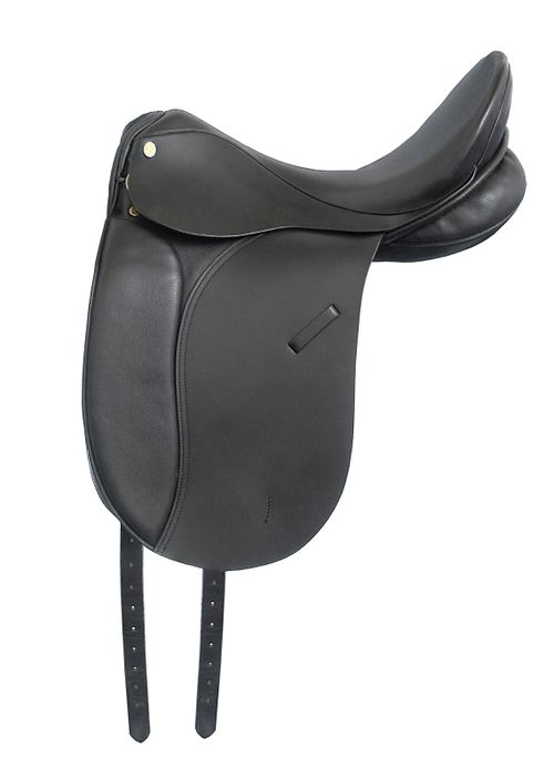 Kincade Leather Dressage Saddle - Black