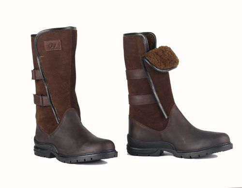 Ovation Women's Blair II Country Boot - Dark Brown