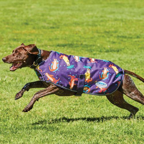 Weatherbeeta Comfitec Premier Free Parka Deluxe Medium Weight Dog Coat - Otter Print