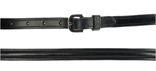 Harmohn Kraft Plain Raised Belt 3/4in - Black