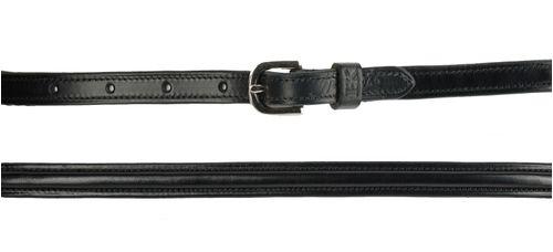 Harmohn Kraft Plain Raised Belt 5/8in - Black